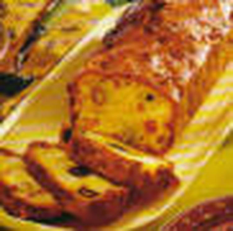 Recette de cake au jambon et aux olives la recette facile - Cake aux olives jambon ...