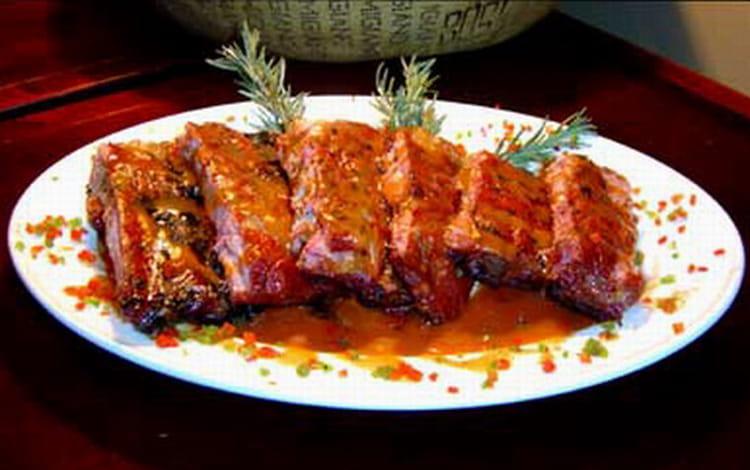 Recette de travers de porc tex mex la recette - Cuisiner travers de porc ...