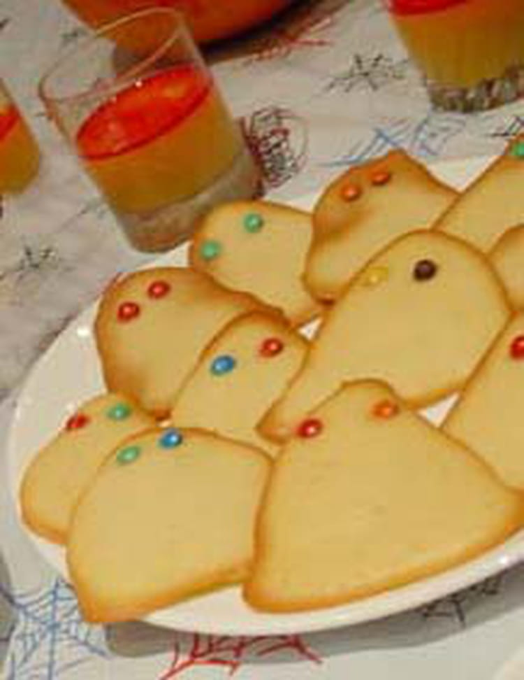 Recette de biscuits fant mes d 39 halloween la recette facile - Recette halloween facile ...