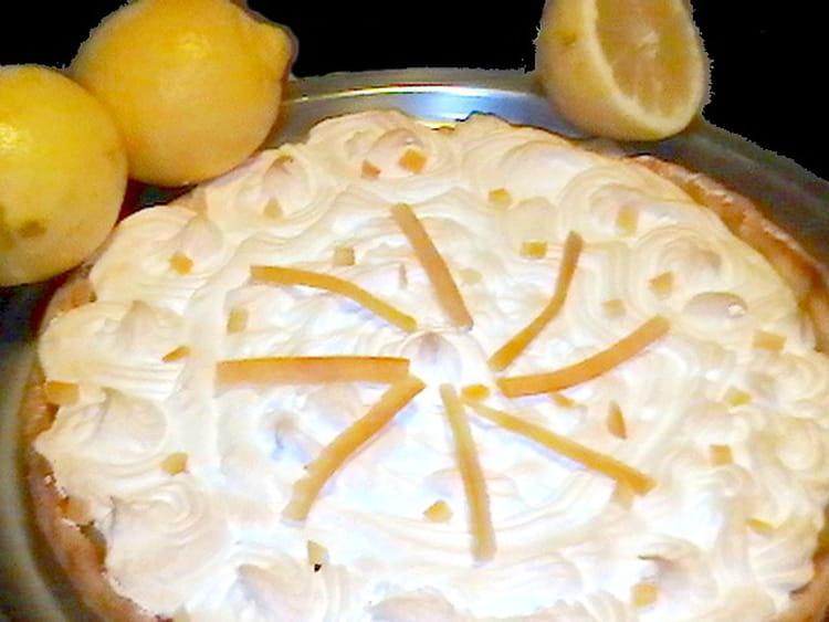 Recette de tarte au citron meringu e classique la recette facile - Recette tarte citron meringuee facile ...