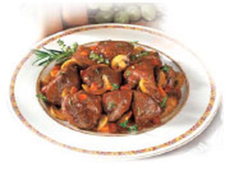 Recette de chevreuil sauce grand veneur la recette facile - Cuisiner gigot de chevreuil ...