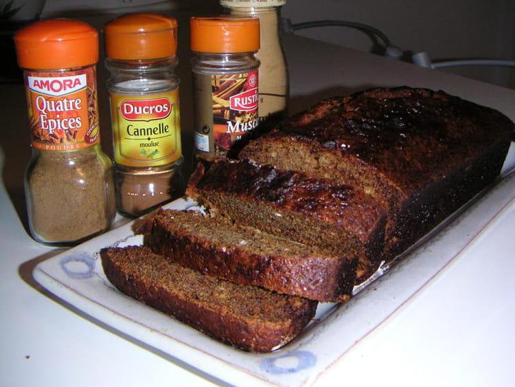 Recette de pain d 39 pices maison la recette facile for Pain d epice maison