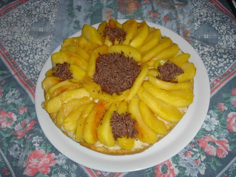 Recette de g teau croquant aux pommes caram lis es et aux noix la recette - Gateau aux noix et pommes ...