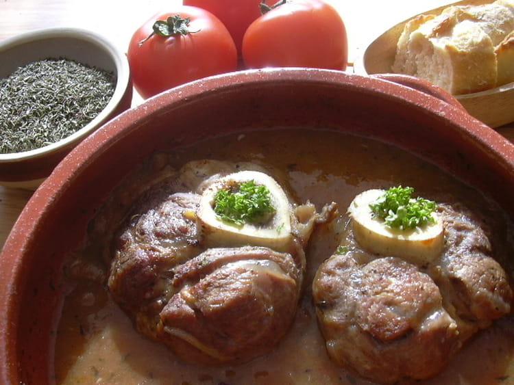 Recette osso bucco traditionnel la recette facile - Osso bucco veau recette ...