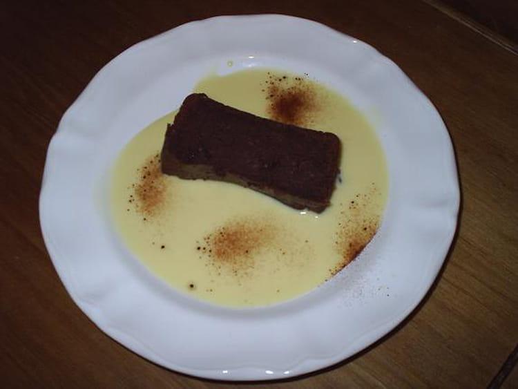Recette fondant la cr me de marron et au chocolat g teau - Fondant chocolat creme de marron ...