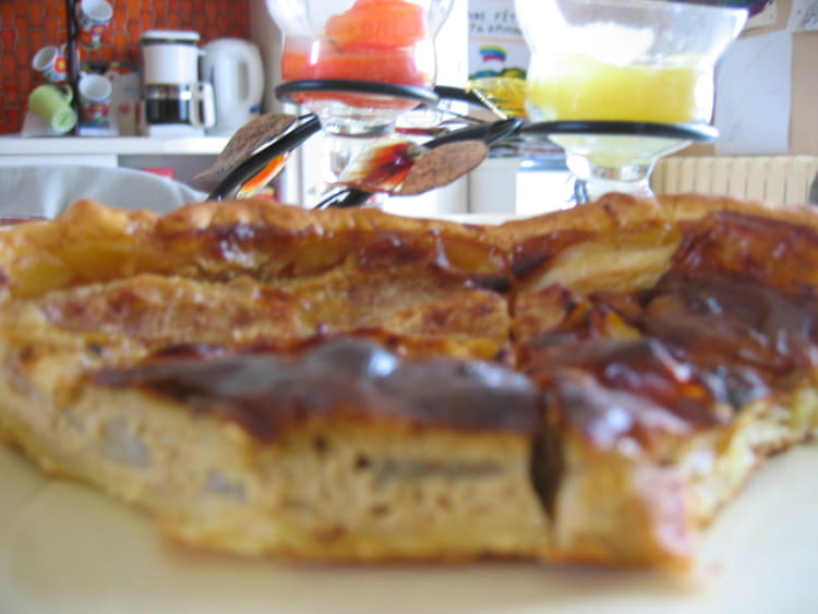 recette de tarte aux poires et fromage blanc la recette facile. Black Bedroom Furniture Sets. Home Design Ideas