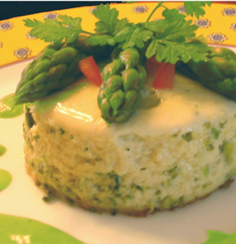 Recette de mousseline d 39 asperges la pistache la - Cuisiner des asperges fraiches ...