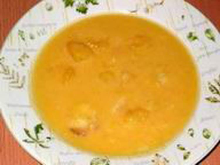 soupe sucree a la citrouille