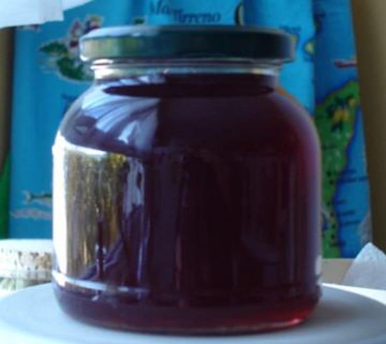 Recette de gel e de pommes et m res la recette facile - Gelee de mures facile ...