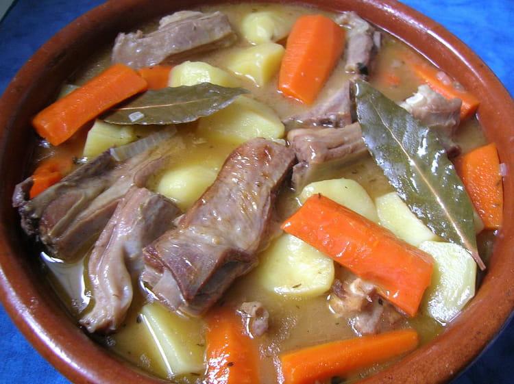 Recette de rago t d 39 agneau la recette facile - Cuisiner les restes de gigot d agneau ...
