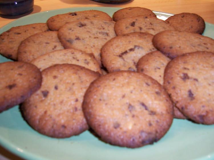 recette de cookies chocolat noisette la recette facile. Black Bedroom Furniture Sets. Home Design Ideas