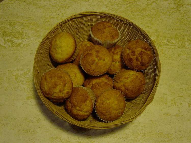 muffins a la fleur d oranger et a l orange confite