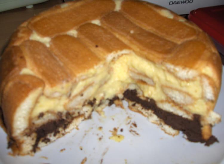 Recette de charlotte citron chocolat la recette facile - Charlotte au chocolat facile ...