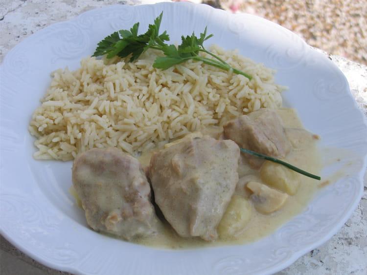 Recette de la vraie blanquette de veau la recette facile - Cuisiner la blanquette de veau ...