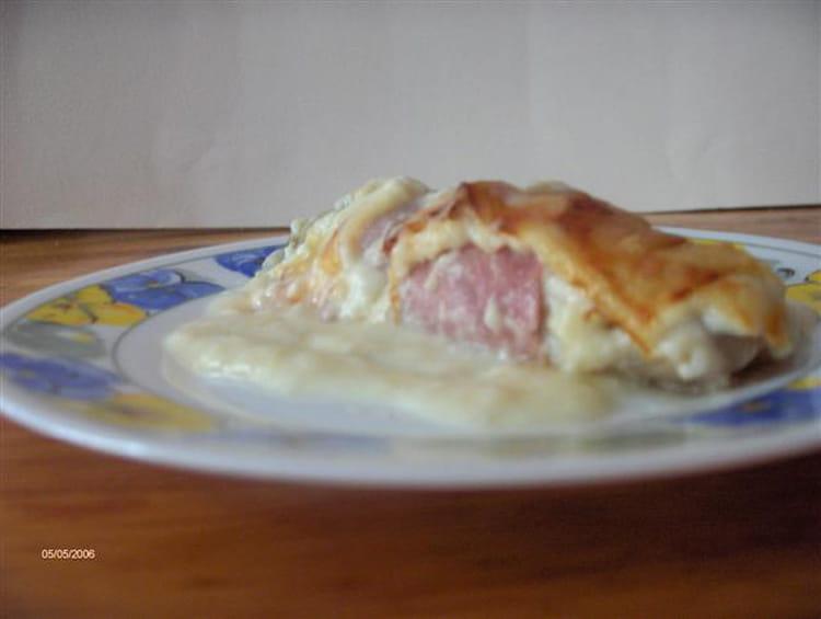 Recette endives au jambon et b chamel maison la recette facile - Recette endives au jambon ...