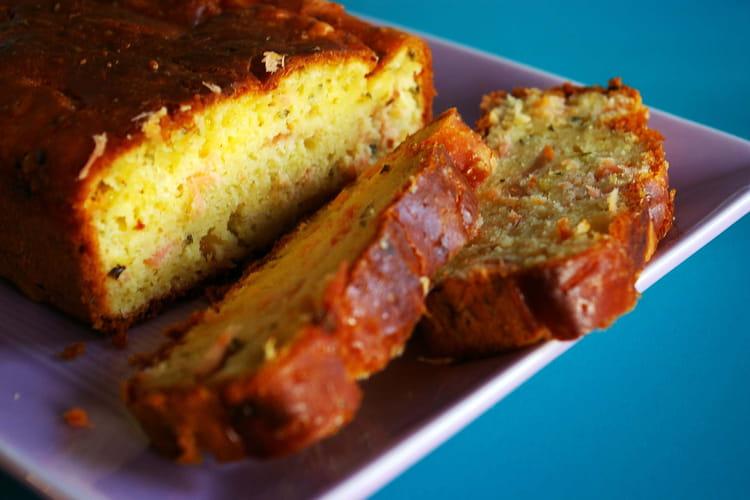 recette de cake au citron et au saumon la recette facile. Black Bedroom Furniture Sets. Home Design Ideas
