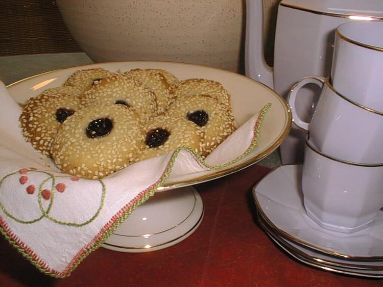Recette de biscuits au s same et la gel e de m res la recette facile - Gelee de mures facile ...
