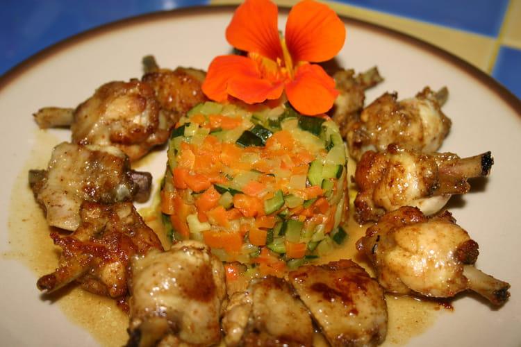 poulet aux petits legumes