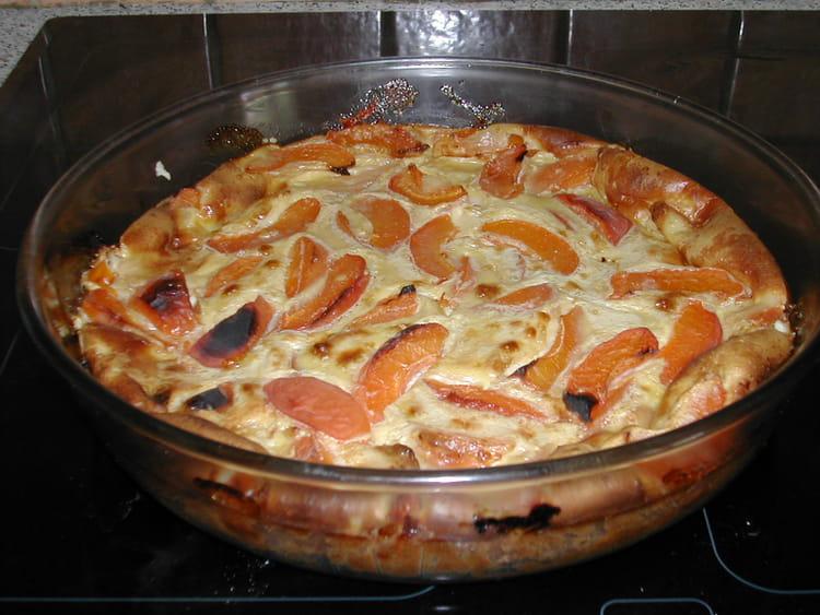 clafoutis aux abricots leger et simple