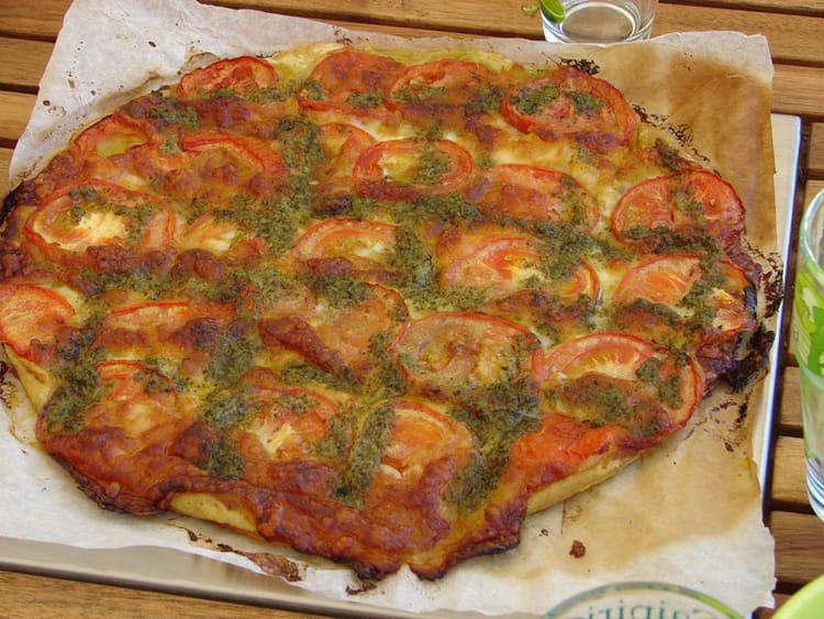 recette tarte tomate mozzarella entr e chaude. Black Bedroom Furniture Sets. Home Design Ideas