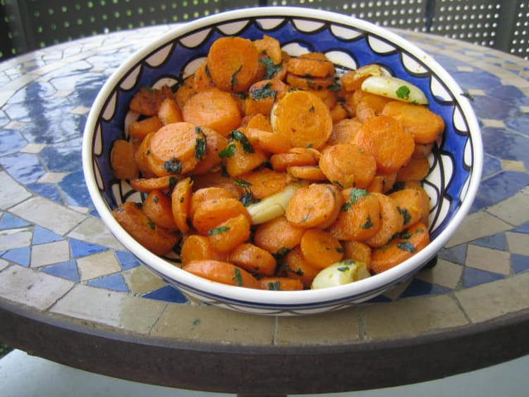recette de salade de carottes la marocaine la recette facile. Black Bedroom Furniture Sets. Home Design Ideas