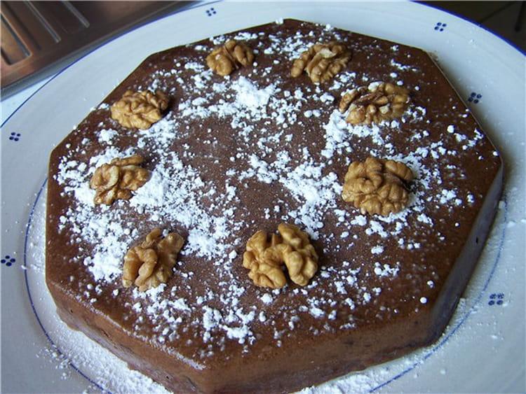 marquise au chocolat cerneaux de noix et 233 corce d orange la recette facile