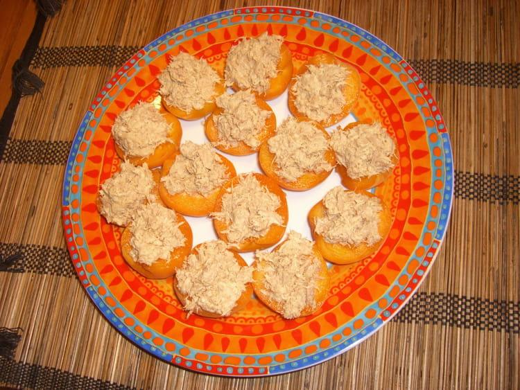 recette abricots au thon la recette facile. Black Bedroom Furniture Sets. Home Design Ideas
