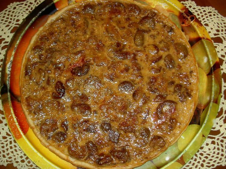 Tarte aux figues la recette facile - Cuisiner des figues fraiches ...