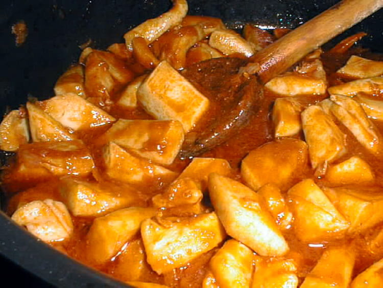 Recette de seiche l 39 am ricaine la recette facile - Cuisiner des aubergines facile ...