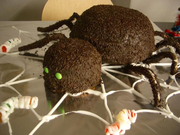 Recette de horrible araign e d 39 halloween la recette facile - Recette halloween horrible ...