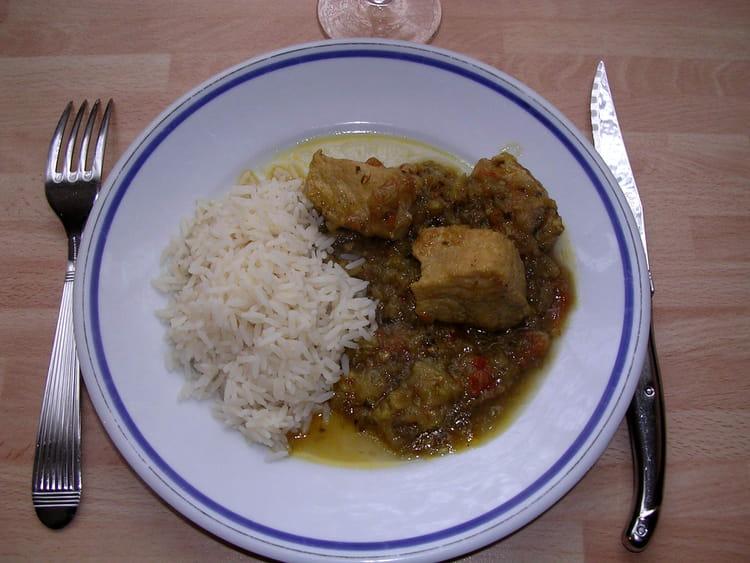 recette de daube de porc au curry la recette facile. Black Bedroom Furniture Sets. Home Design Ideas