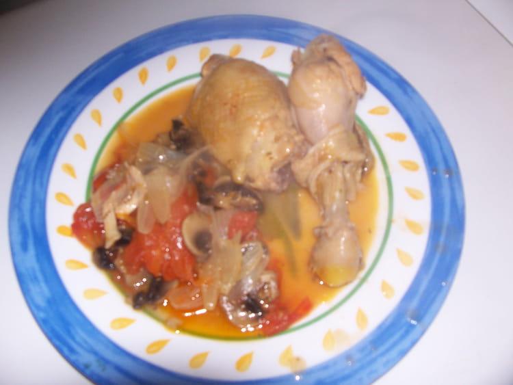 Le v ritable poulet marengo la recette facile - Poulet marengo recette ...