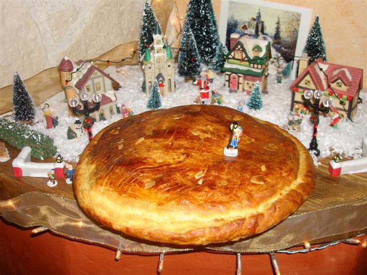 Recette de galette des rois amande pralin la recette facile - Recette facile galette des rois ...