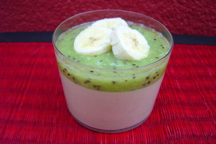 recette de cr 232 me au lait de coco kiwi et bananes la recette facile