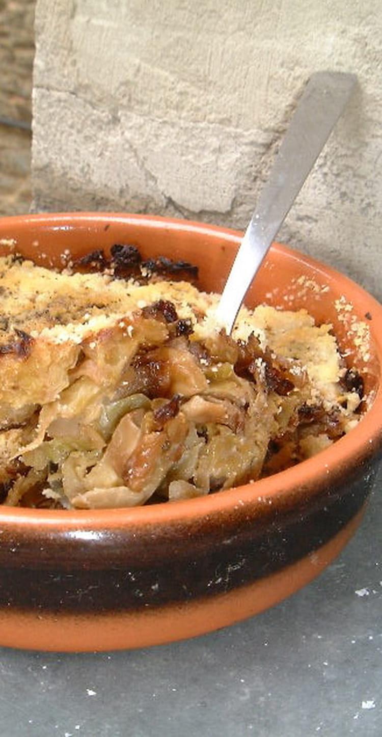 Recette de gratin de choux de bruxelles au parmesan la - Choux de bruxelles recette gratin ...