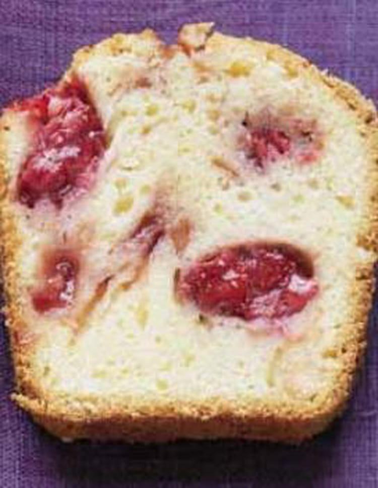 Recette Cake Design Fraise : Recette de Cake aux fraises : la recette facile