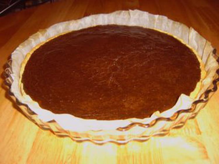 Tarte aux chocolat facile et rapide - Tarte aux chocolat facile ...