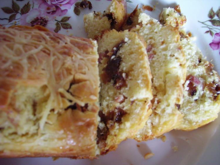 Cake Au Lardons Et Au Pruneaux