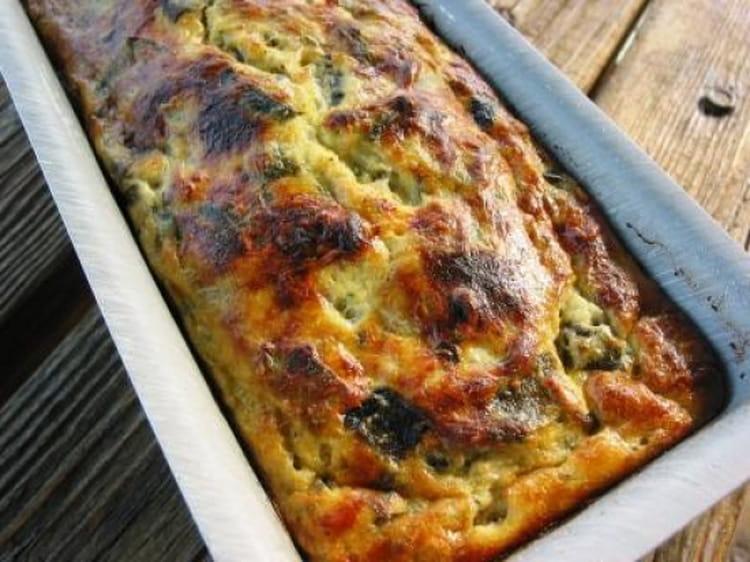 pain de courgettes aux herbes