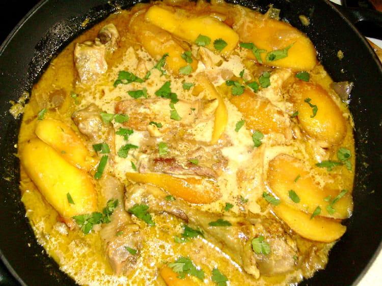 Recette de wok de poulet aux mangues la recette facile - Cuisiner aiguillette de poulet ...