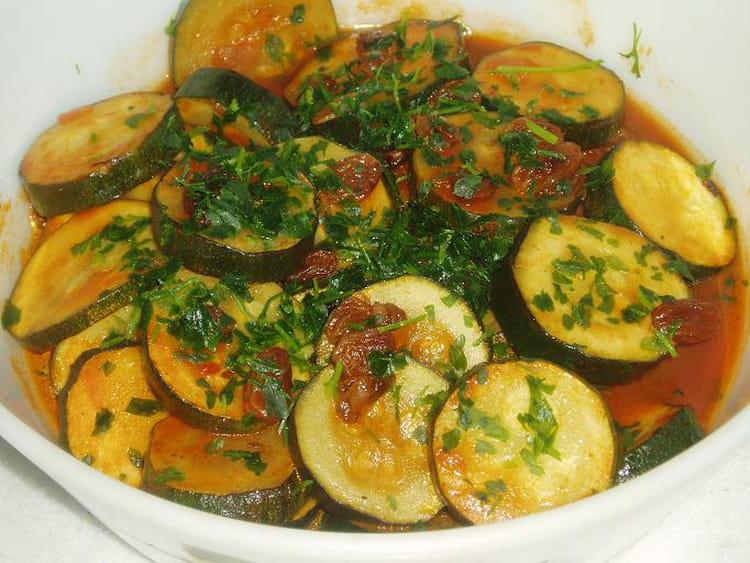 Recette de courgettes la grecque la recette facile - Cuisiner les fleurs de courgette ...