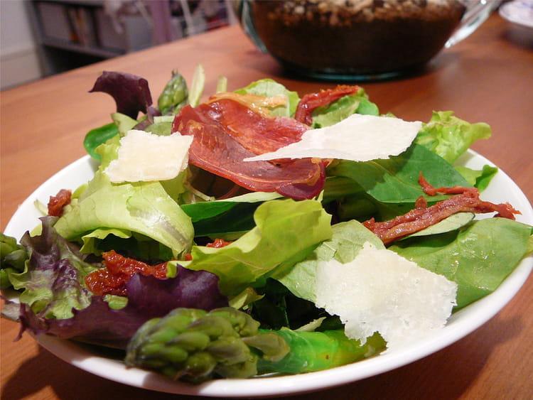 recette de salade asperges tomates s 233 ch 233 es et parmesan la recette facile