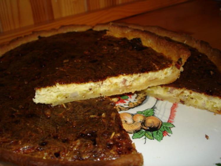 recette de tarte poireaux lardons la recette facile. Black Bedroom Furniture Sets. Home Design Ideas