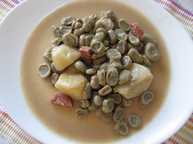 Recette de rago t de f ves la recette facile - Cuisiner les feves fraiches ...