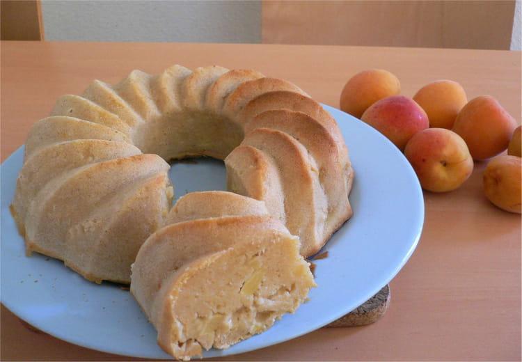 gateau de savoie a la pomme et a l abricot