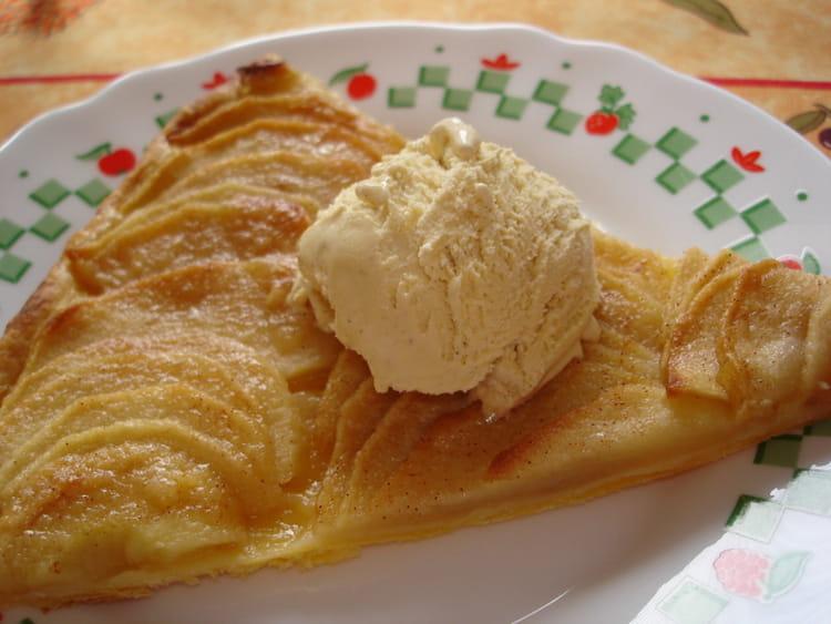 Recette de tarte l g re aux pommes la recette facile - Tarte aux poireaux legere ...