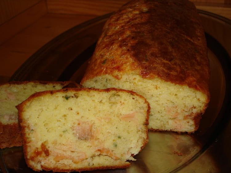 Cake Saumon Et Ciboulette