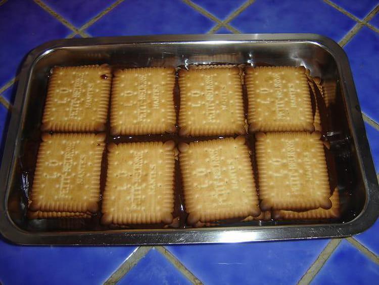 Recette pavé au chocolat avec petit beurre