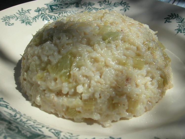recette de risotto de fenouil la recette facile. Black Bedroom Furniture Sets. Home Design Ideas