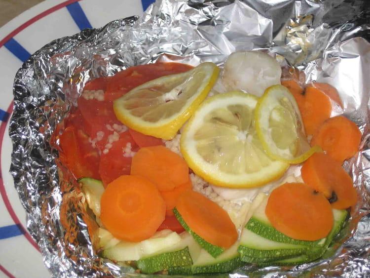 Recette de papillotes de poisson la recette facile - Cuisine poisson facile ...